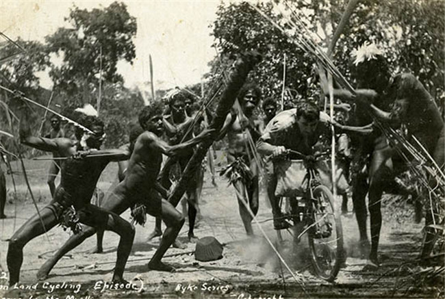 The planned tribal cannibals have yet to be installed in the Great North Road Cyclemaze, but planners are confident they will be the final solution to ensuring that none who enters can escape.
