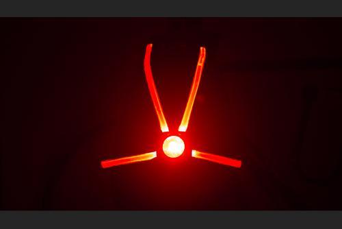 Veglo Commuter X4 - lit up